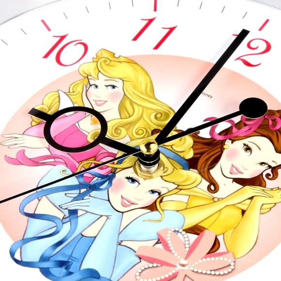 disney/迪士尼公主可爱卡通儿童静音挂钟(8寸)