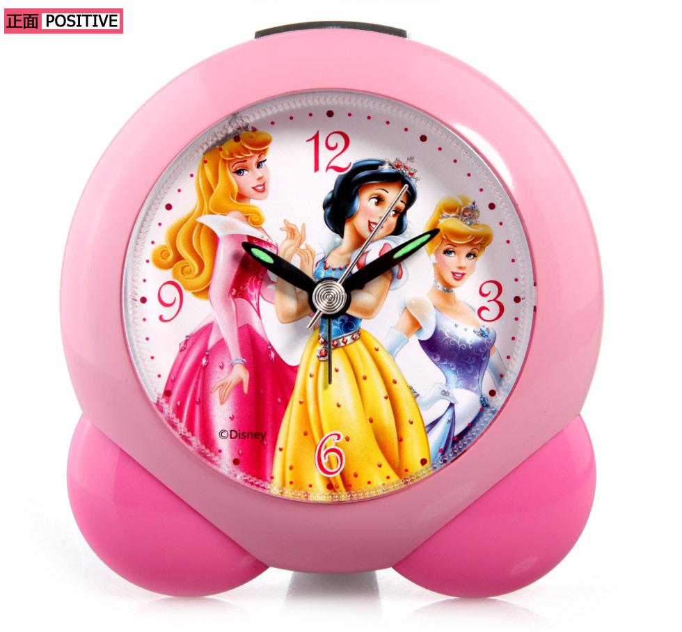 儿童闹钟; 迪斯尼公主钟迪士尼迪斯尼小孩儿童男童女孩懒人白雪公主