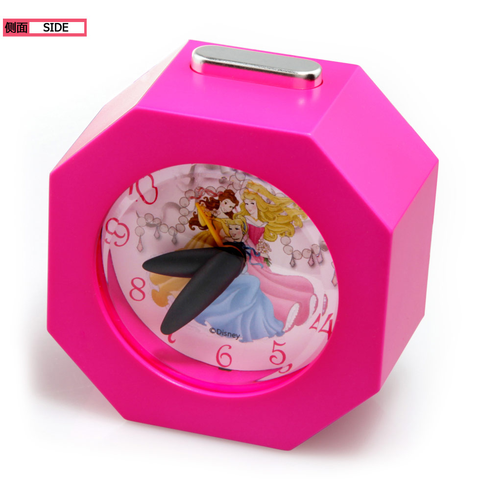 Disney/迪士尼公主糖果色多边形静音闹钟C3015PC迪士尼公主 - 迷你闹钟 - 闹钟 - 钟 - TIME100/时光一百 品牌名表,定制手表,礼品表,全国包邮,7天包退,30天包换,1年保修,24小时闪电发货,100%官网正品